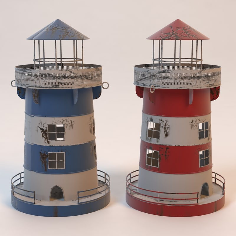 light lighthouse obj
