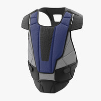 3ds hockey goalie chest protector