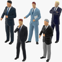 max miniture business men miniature