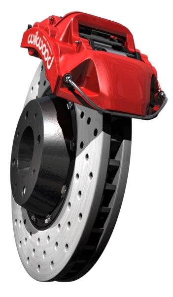 wilwood disc brake 3d model