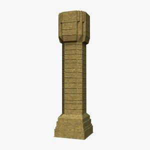 column unity 3d model