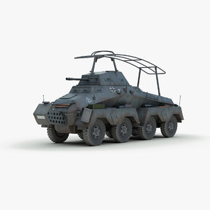 ww2 german sd kfz 3d 3ds
