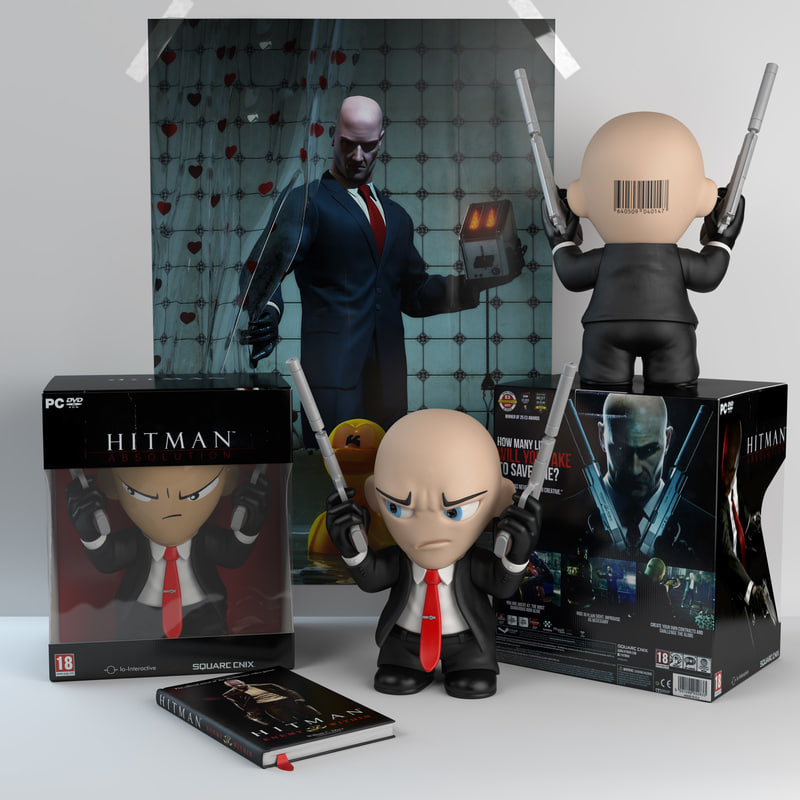 Toy Hitman 3d Model