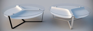 3d model of isomi void cofee table