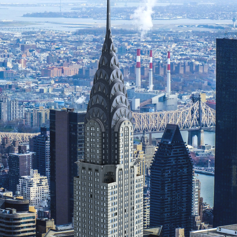 chrysler building 3d max