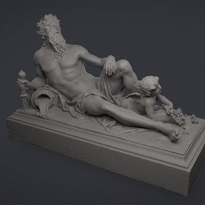 baroque poseidon max