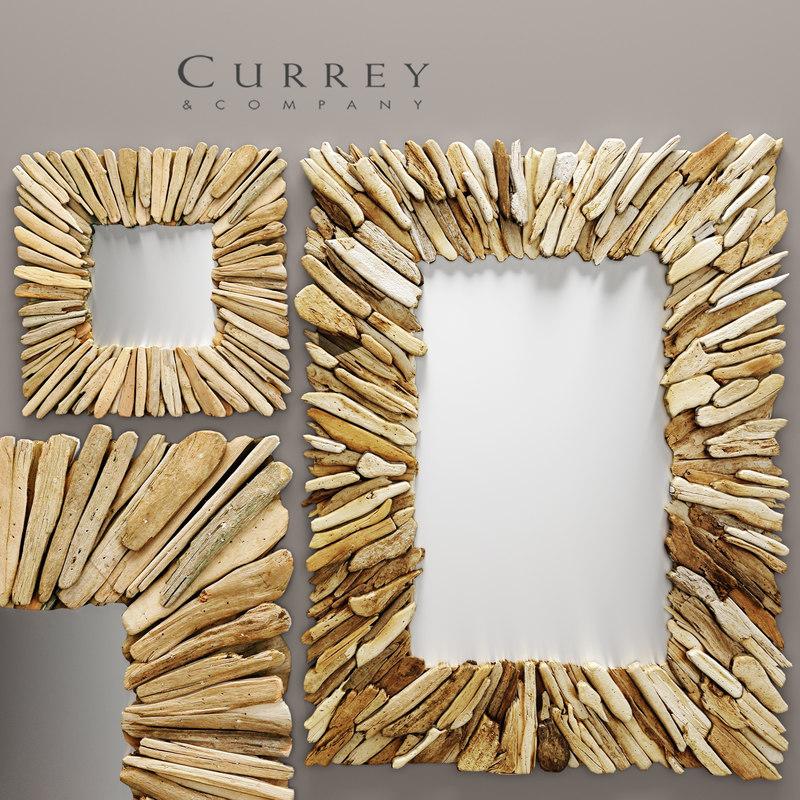 curreycompany beachhead set mirrors 3d model