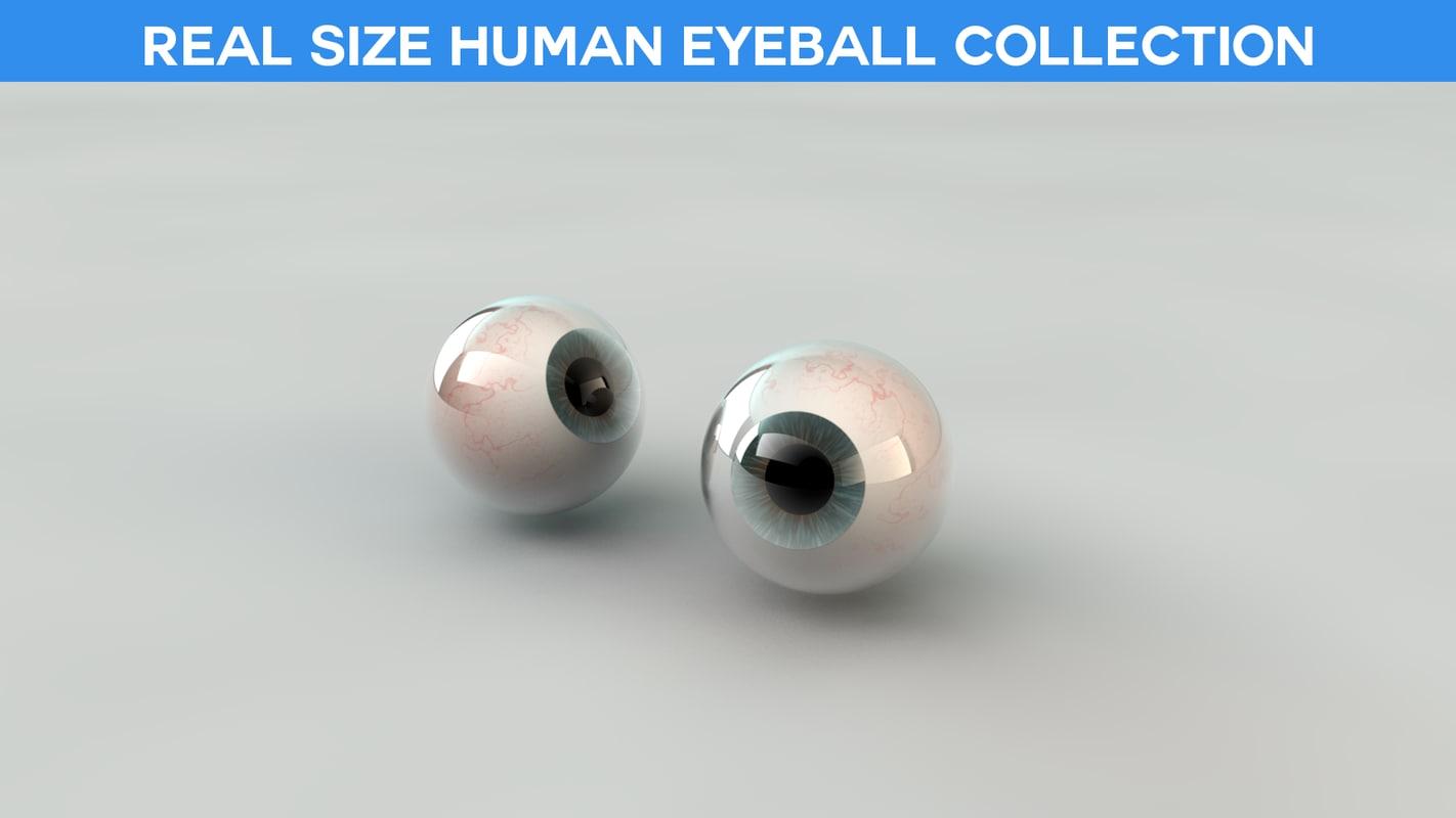 eyeball eye obj free