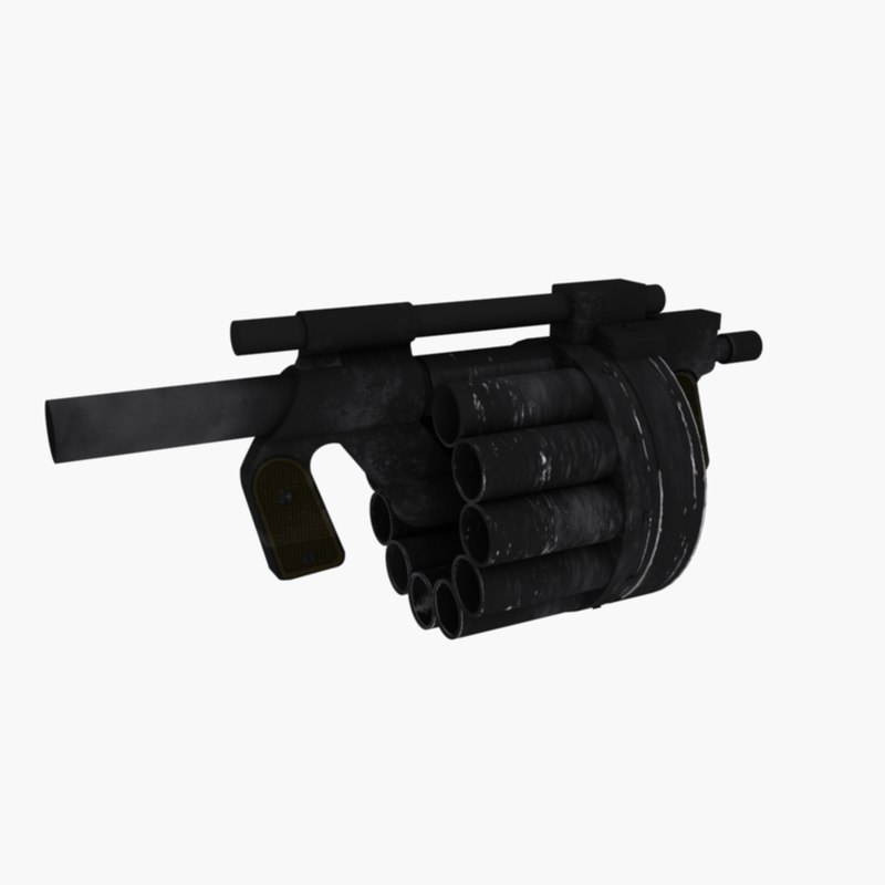 grenade launcher hawk 3d 3ds