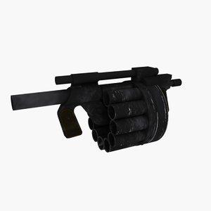 grenade launcher hawk 3d 3ds