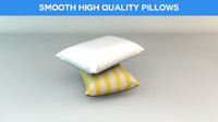 free smooth pillow 3d model