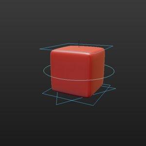 free rig cube 3d model