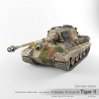 German tank PzKpfw VI Ausf B Tiger II '233'