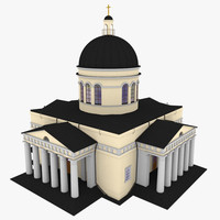 3d max nativity cathedral