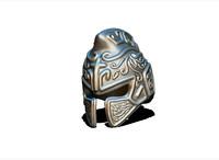 3d model of helmet gladiator
