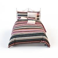 linens bed 3d model