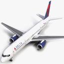 757-200 3D models