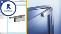 Door closer - Revit family