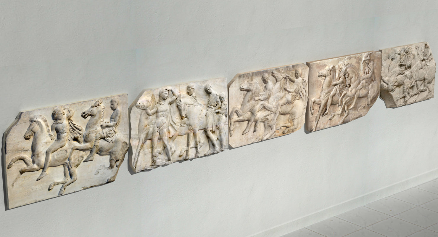 obj frieze parthenon