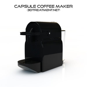 3d capsule coffee maker