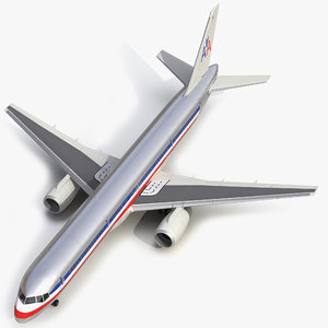 boeing 757 200 american airlines 3d max