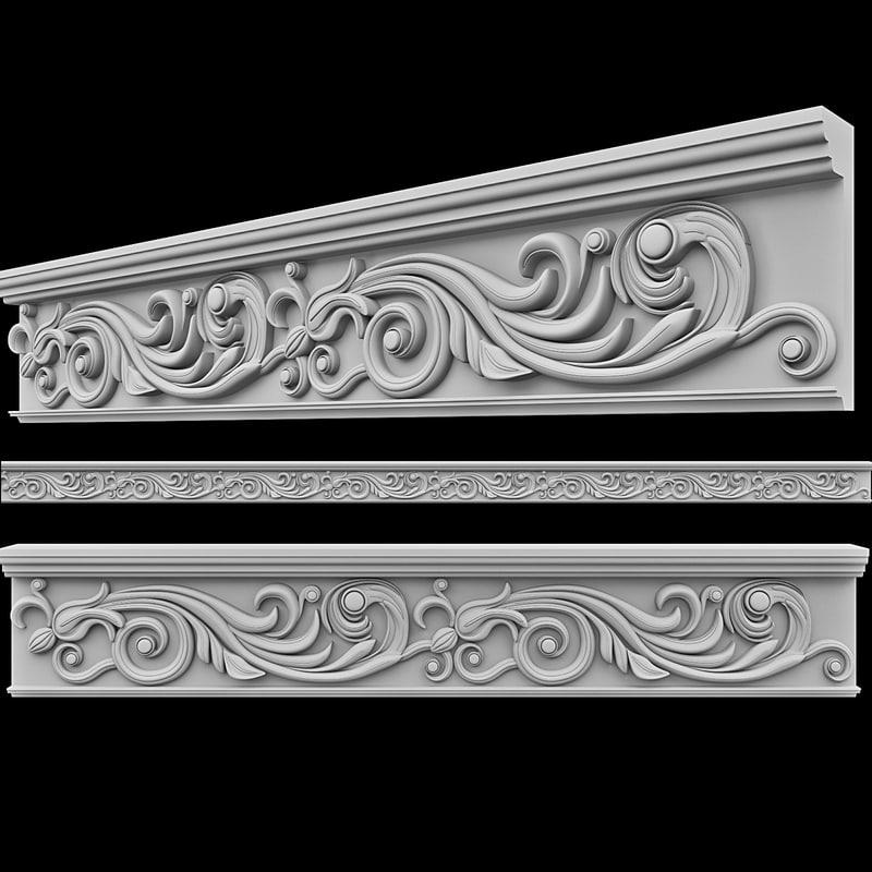 3d model moulding