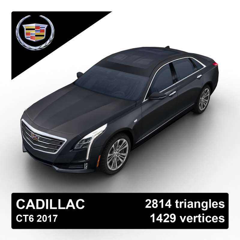 2017 cadillac ct6 sedan 3d 3ds