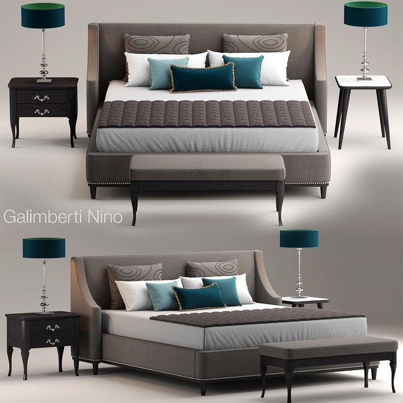 3d grace galimberti bed model