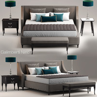 3d grace galimberti bed model