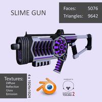 gun 3d fbx