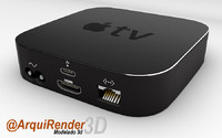 3d apple tv model