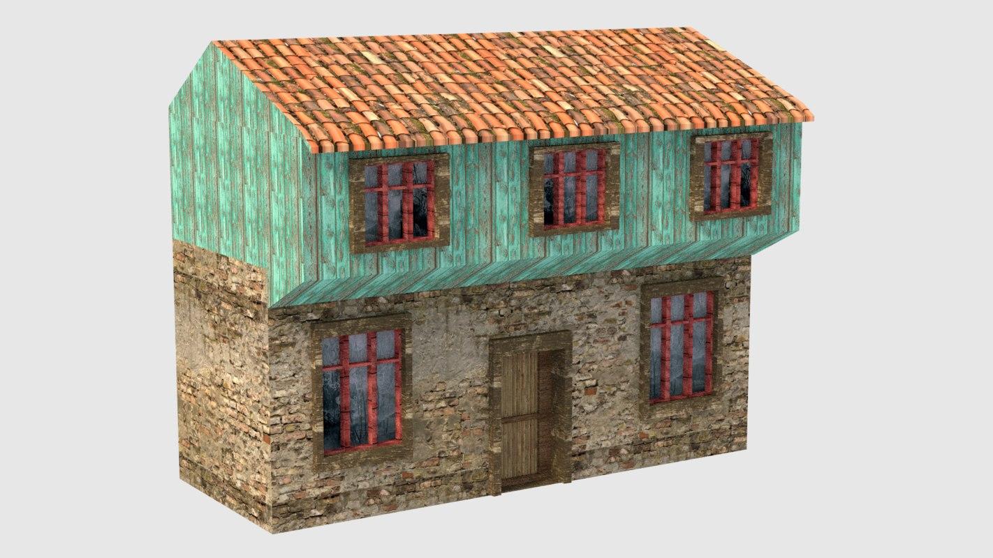 fbx old house