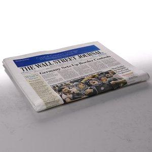 wall street journal newspaper max