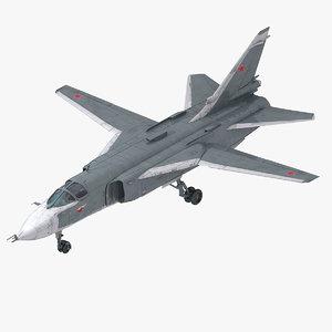 3d model su-24 ready