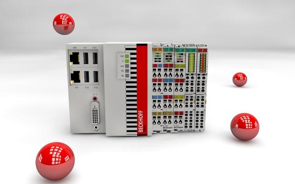 free cx5010 cx5020 embedded pc 3d model