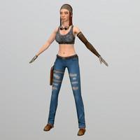 woman character max