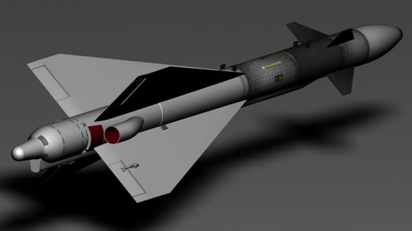 r-40td missile soviet obj