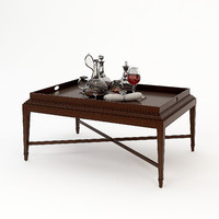 barbara barry tray coffee table obj