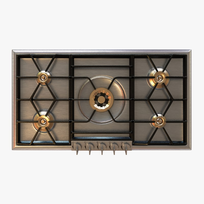 3d cooktop 200 series gas model