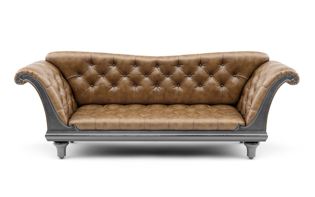 sofa modern classic c4d