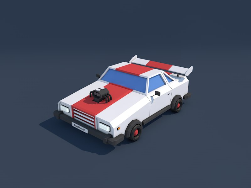 racing car 3ds