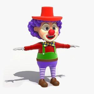 max cartoon clown