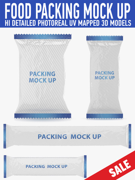 3d food packing