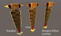Fantasy Aztec-style Sword