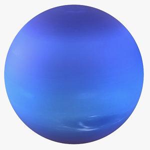 neptune planet 3d max