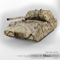 German tank PzKpfw VIII Maus (205\2)