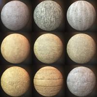 Concrete Textures Pack 002