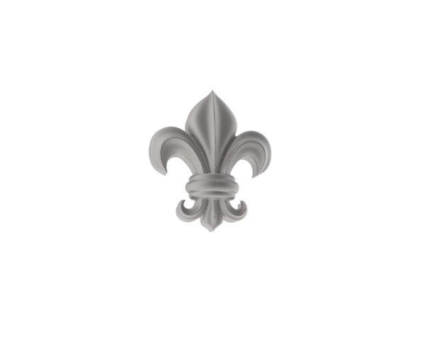 free obj mode heraldic lily