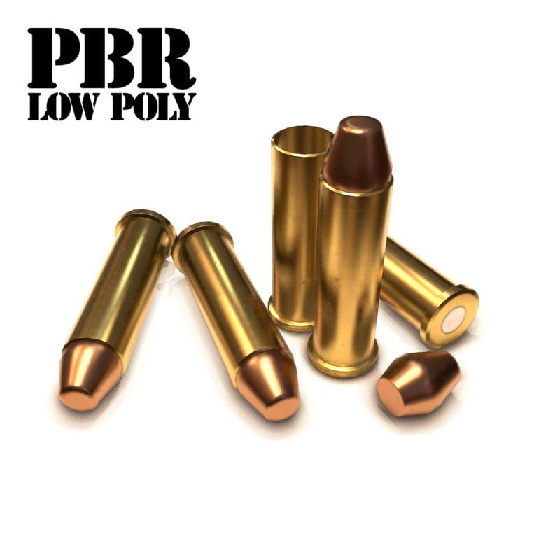 3d model of cartridge bullet 6