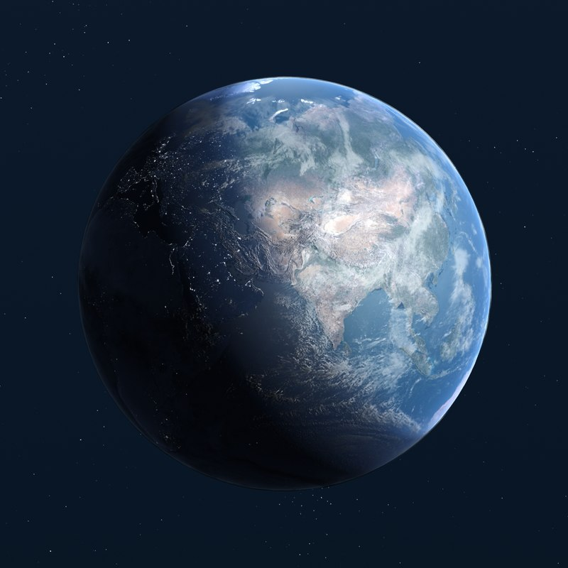 3d earth 16k nasa